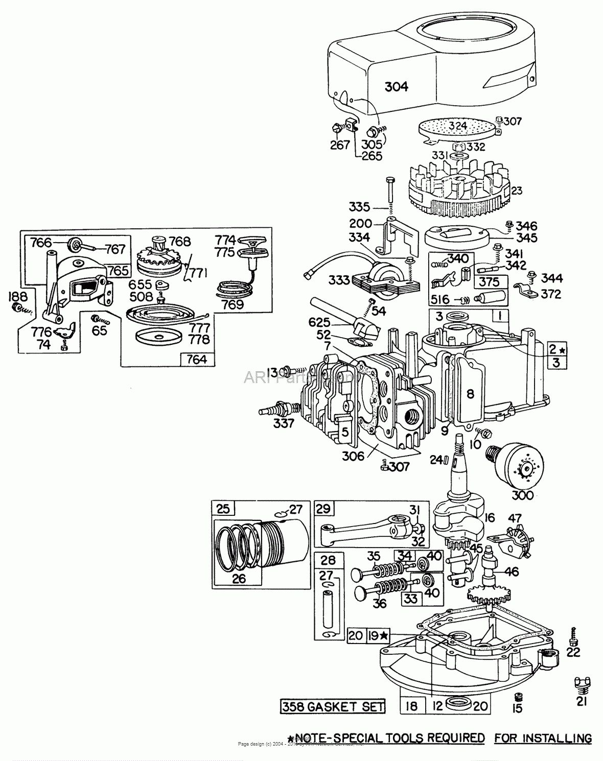 3 5 Hp Briggs Engine Diagram Pictures