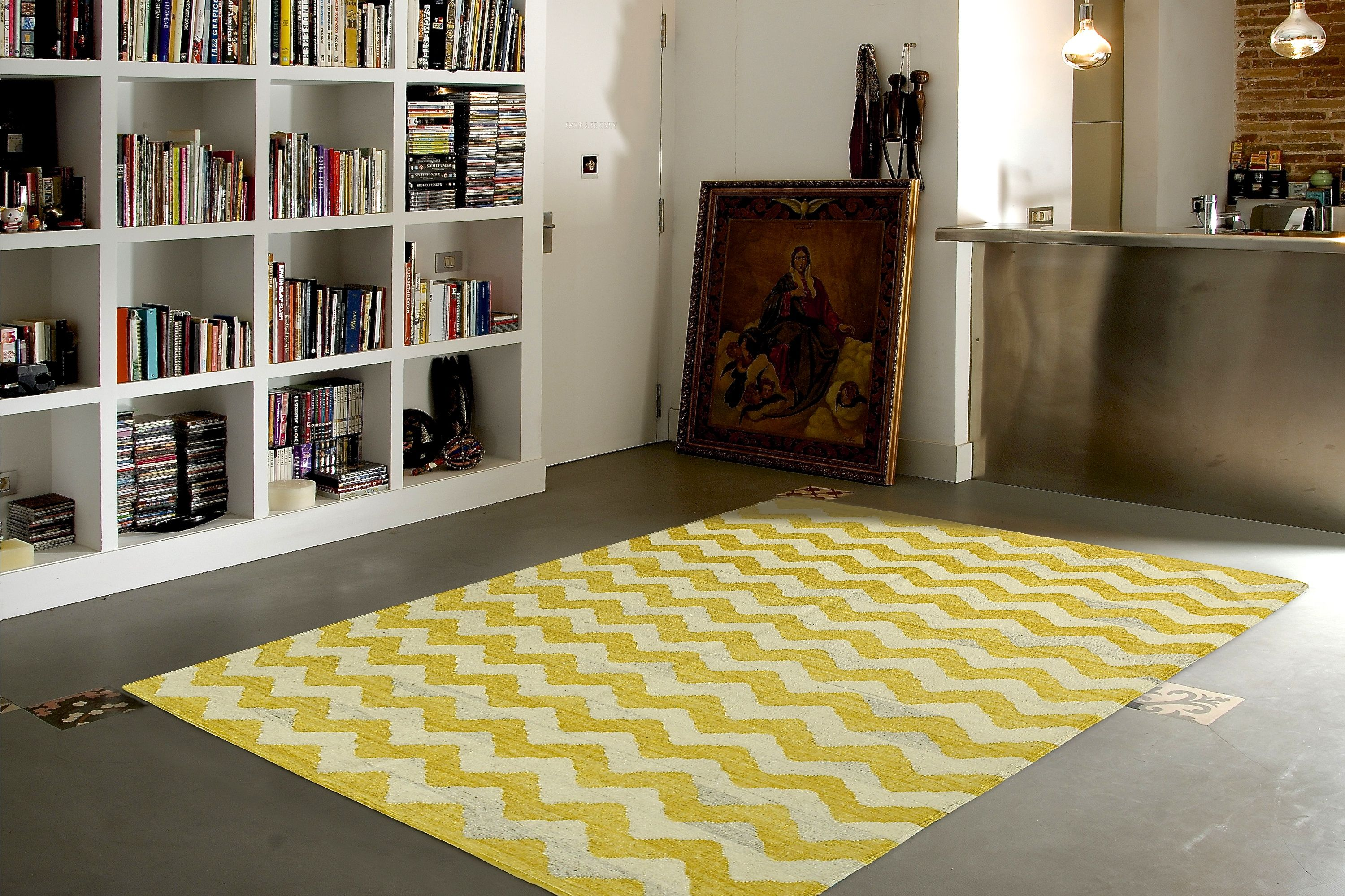 Dac Rugs Atelier Kilim Zig Zag Sun Is The Perfect Combination