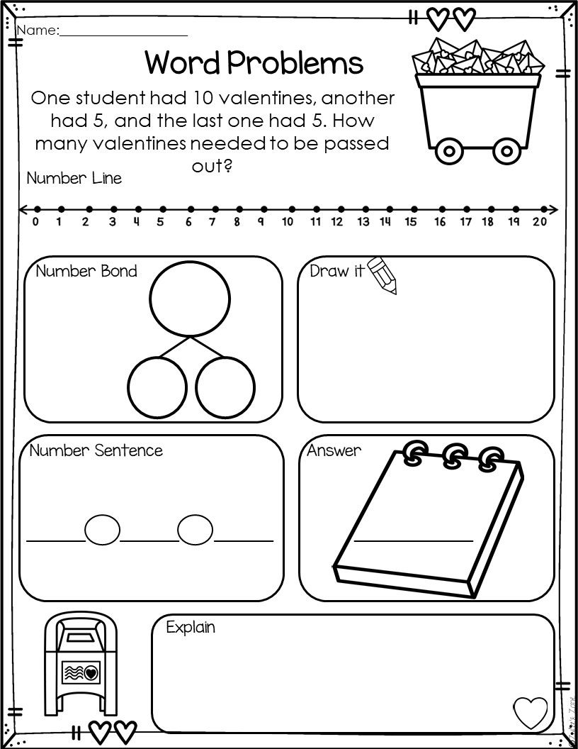 Word Problems Addition Words Word Problem Worksheets Addition Word Problems Double digit addition word problems
