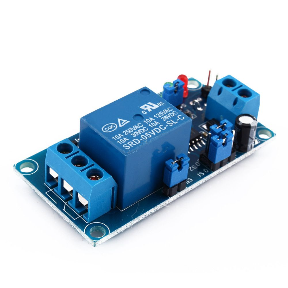 Dc 5v Delay Relay With Timer Turn On Off Switch And The It Self Is Turning A 220vac Circuit Module Hot Sale