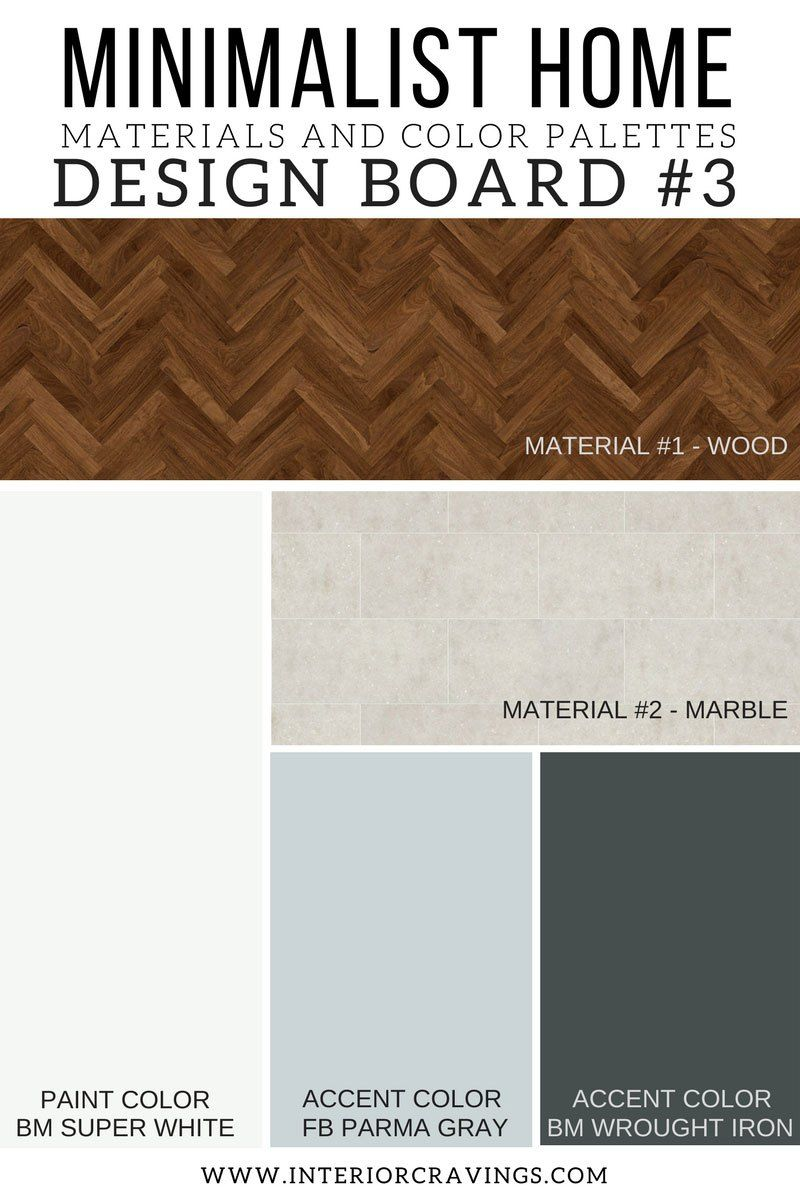 Interior Cravings Minimalist Home Essentials Materials And Color Palettes Design Board 1