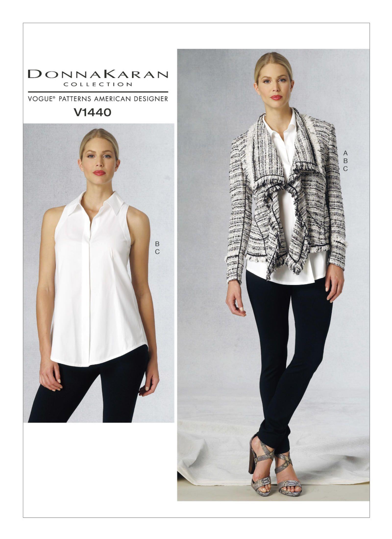 V1440 | Vogue Patterns | Louise Cutting | Pinterest | Vogue patterns ...