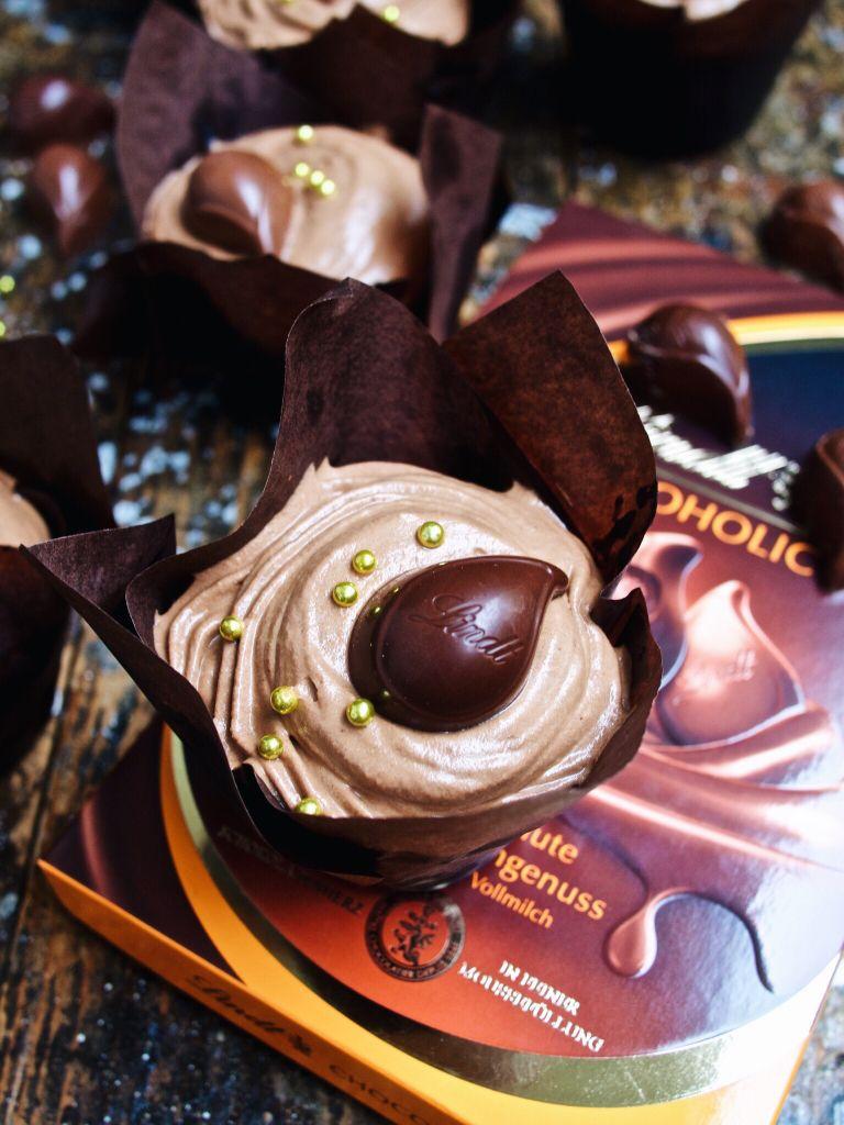 Schokoladen-Mousse-Cupecakes / http://piasdeli.de/Rezept/schokoladen-mousse-cupecakes/