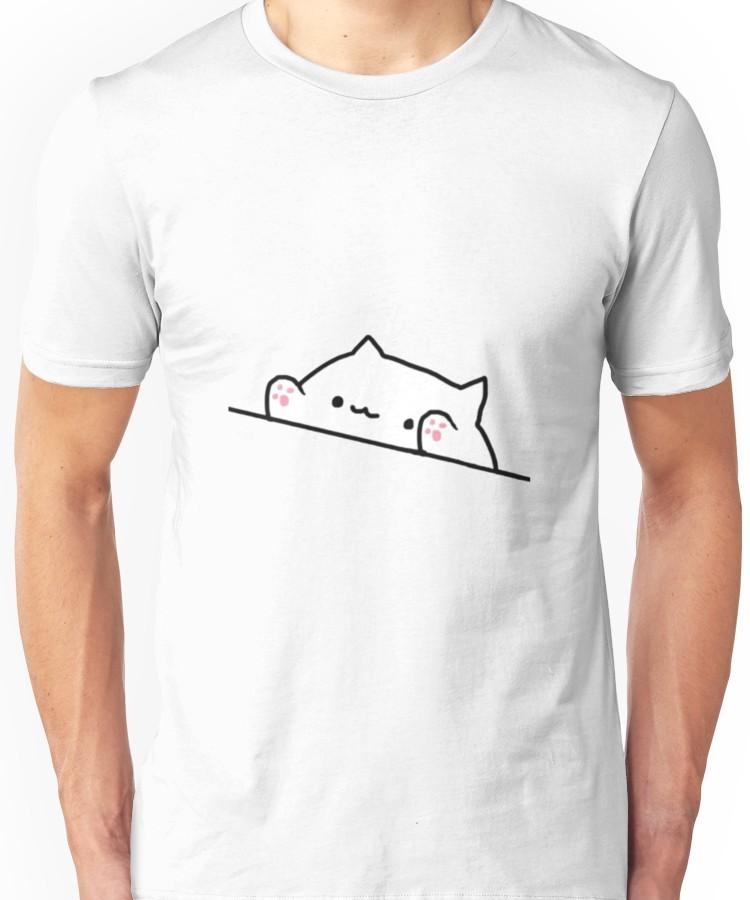 Bongo Cat Meme Unisex T Shirt Meme Shirts Classic T Shirts Meme Design