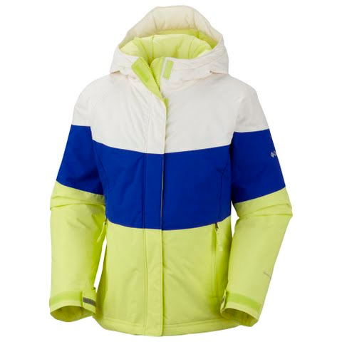 7563bd24d2ee Columbia Toddler Girl s Triple Run Jacket - Neon Light  Columbia ...