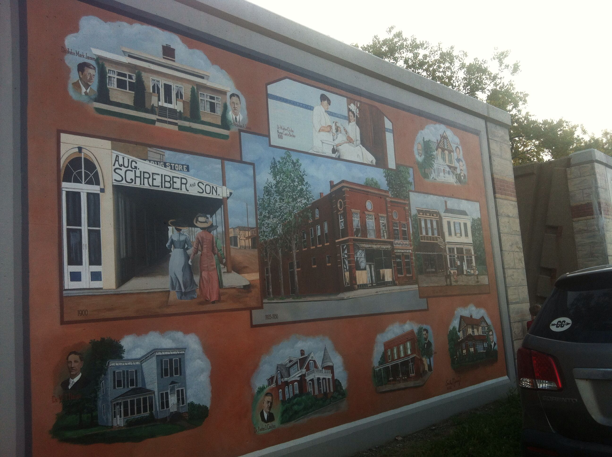Tell city flood wall mural tell city indiana pinterest wall tell city flood wall mural amipublicfo Images