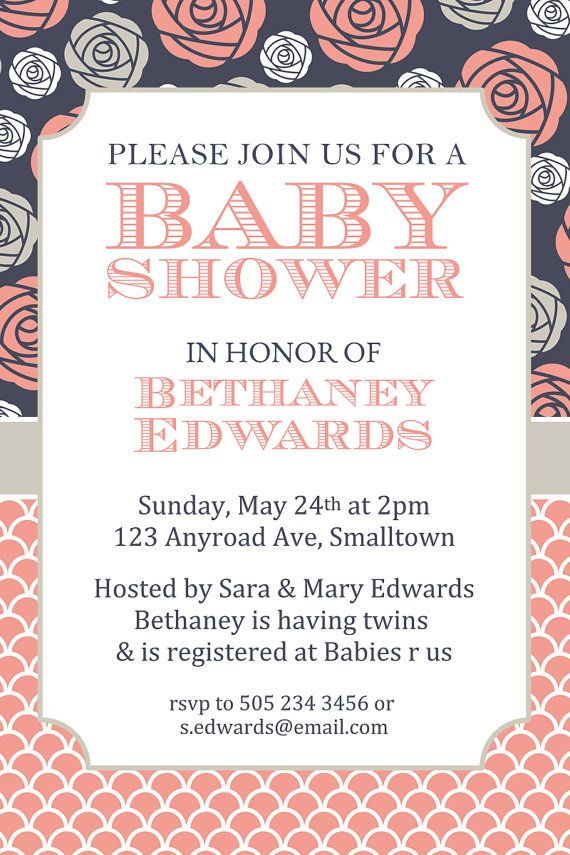 Costco Baby Shower Invitations