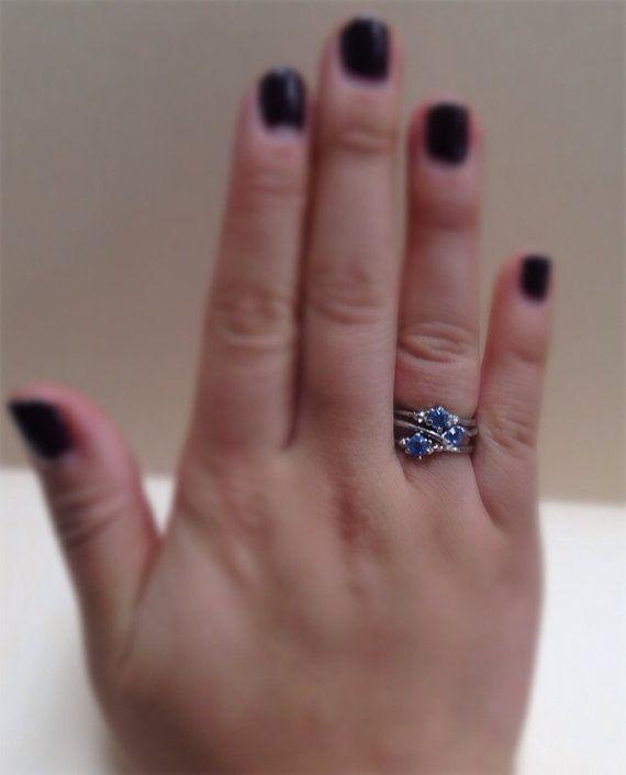 Set of three rings.  on Etsy, $5.00