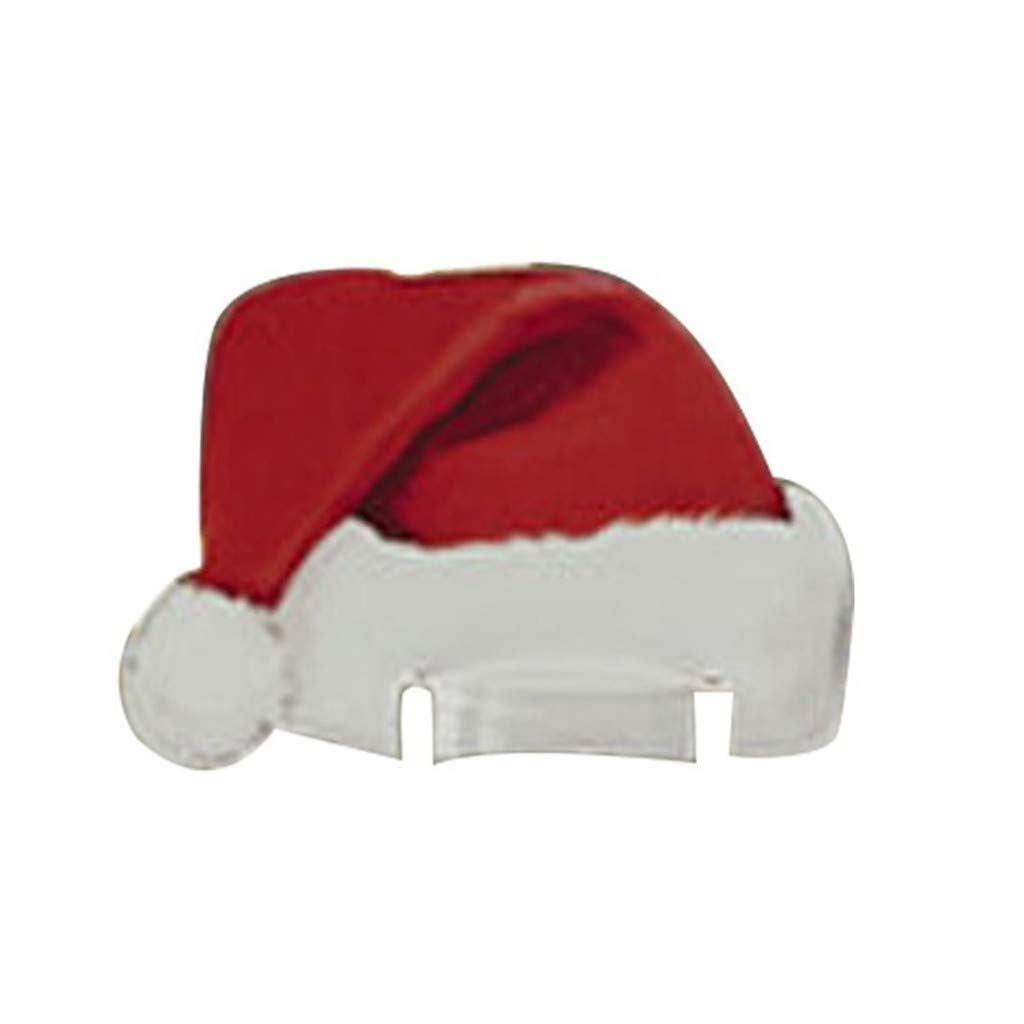 JANOU Christmas Cap Wine Glass Cards Xmas Hat Seat Name ...