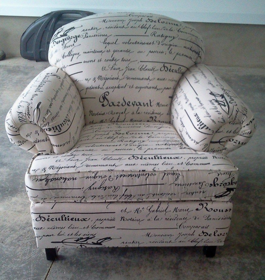 Reupholster Chairs Tutorial | Reupholster chair ...