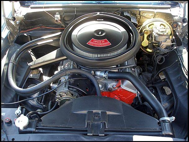 1969 Chevrolet Camaro Z/28 302 cube small block DZ code