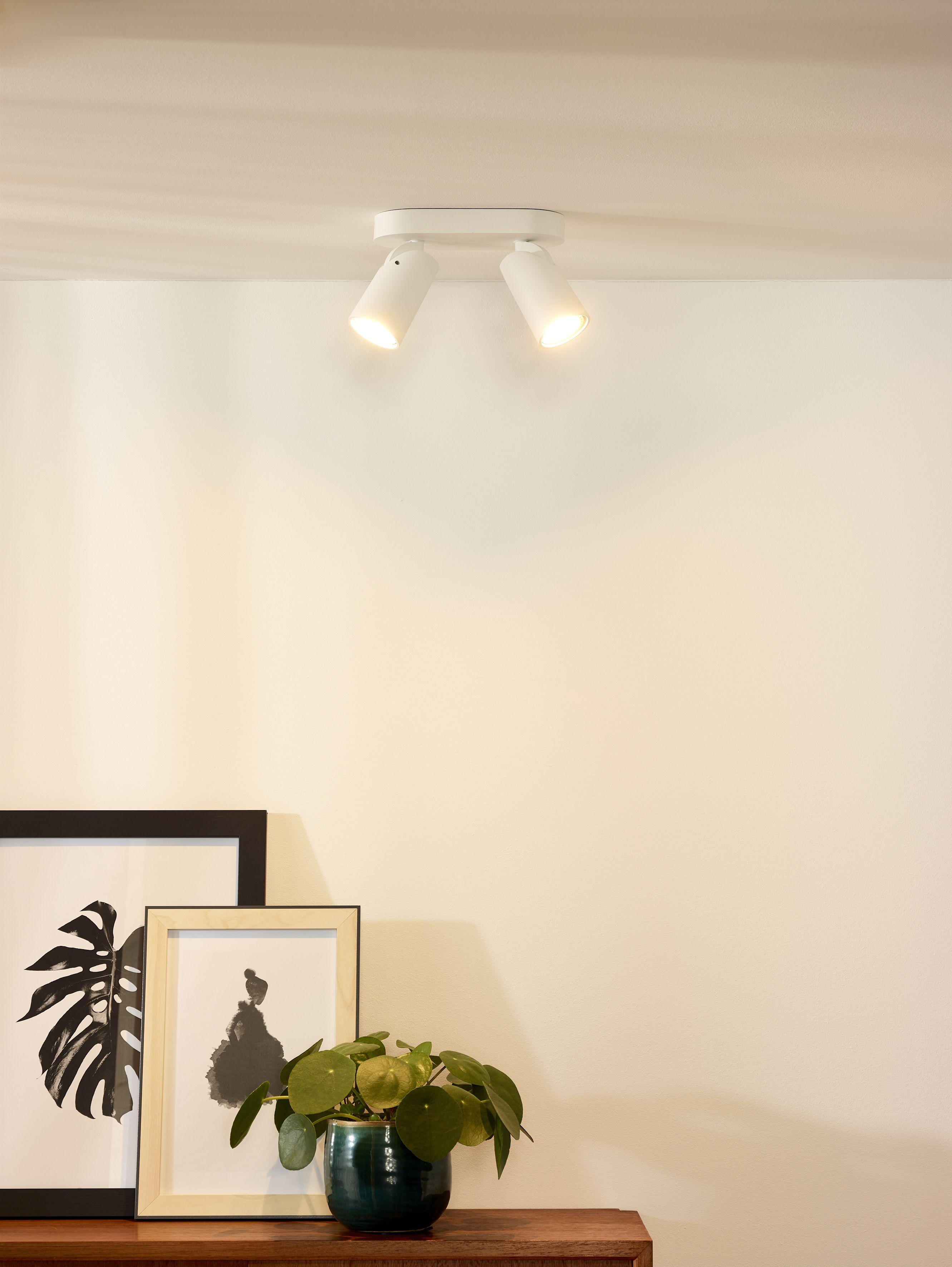 Lucide Xyrus Ceiling Spotlight Led Dim To Warm Gu10