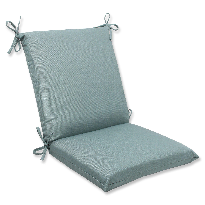36 5 Sunbrella Cool Aqua Blue Outdoor Patio Chair Cushion With