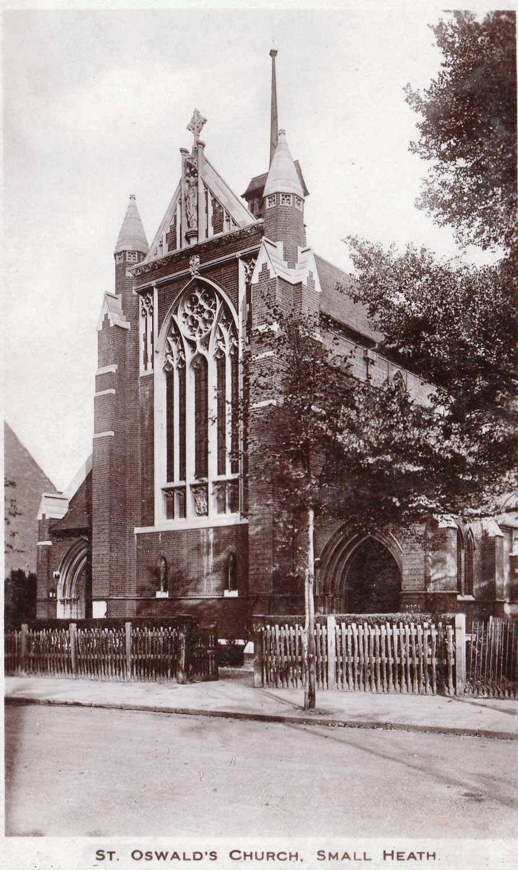 St Oswald's Church Small Heath Birmingham England Church Of England,  Birmingham England, British History