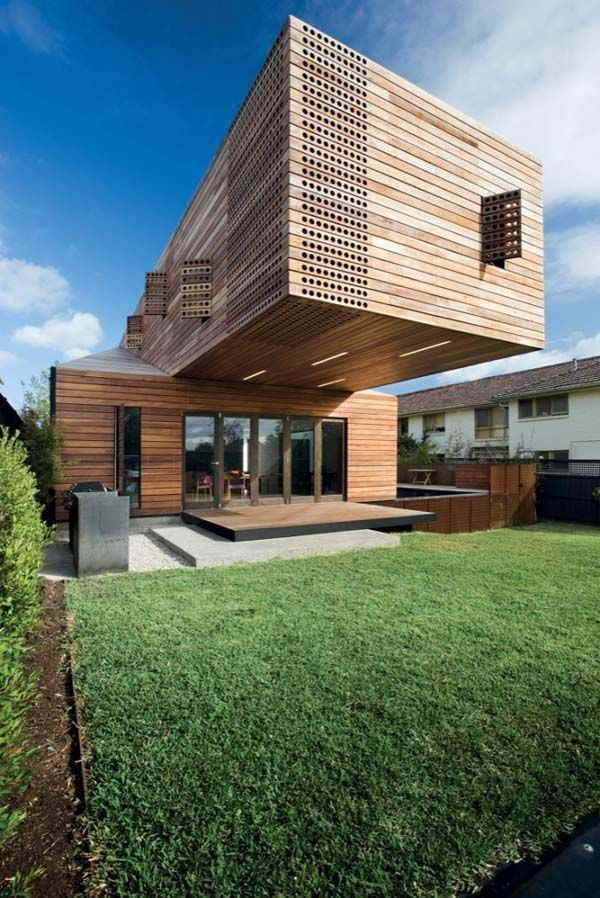 Box Like Modern Trojan Horse Casa Troyana By Jackson Clements Burrows Architecture Architecture House Architecture Design