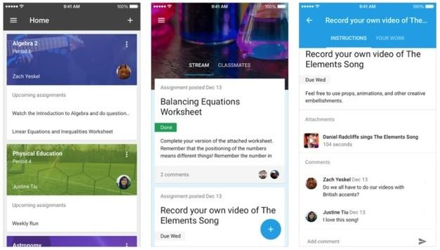 """Google Expands Its Educational Platform """"Classroom"""" With A New API, Share Button ForWebsites ^ TechCrunch ^ by Sarah Perez"""