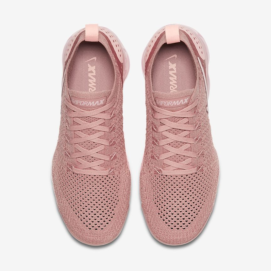 separation shoes 60435 85d31 The Nike Air VaporMax Flyknit 2 Rust Pink is a classic women s shoe with  standout style originating from the Nike VaporMax range.