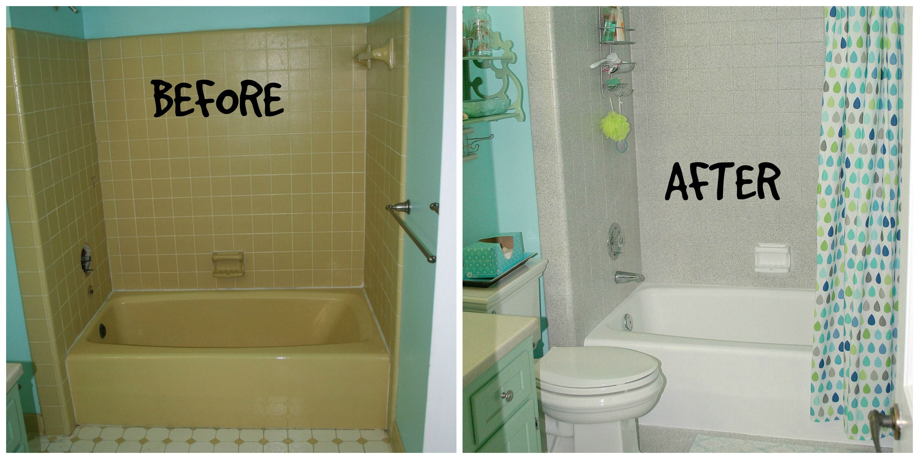 My bathroomt tile and tub reglazing by MiracleMethod.com | My ...
