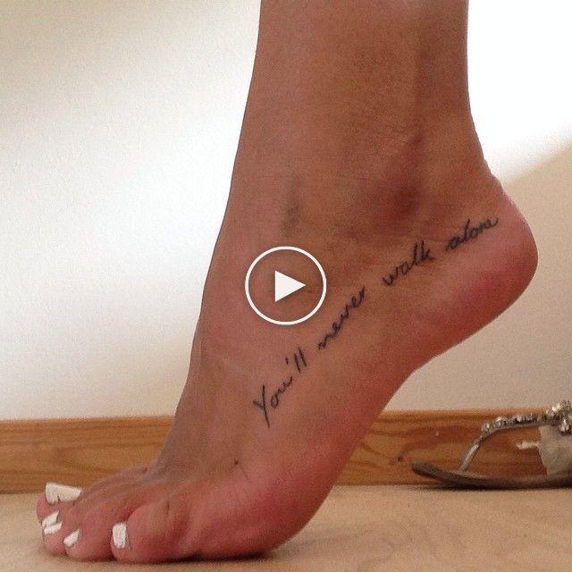 Youll never walk alone tattoo YNWA | Cute tattoos on wrist, Alone tattoo, Tattoo trends
