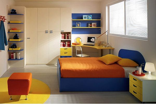 Simple Full Color Kids Room Design Ideas Simple Bedroom Design