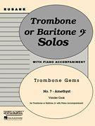 Amethyst - Trombone (Baritone B.C.) Solo with Piano - Grade 3