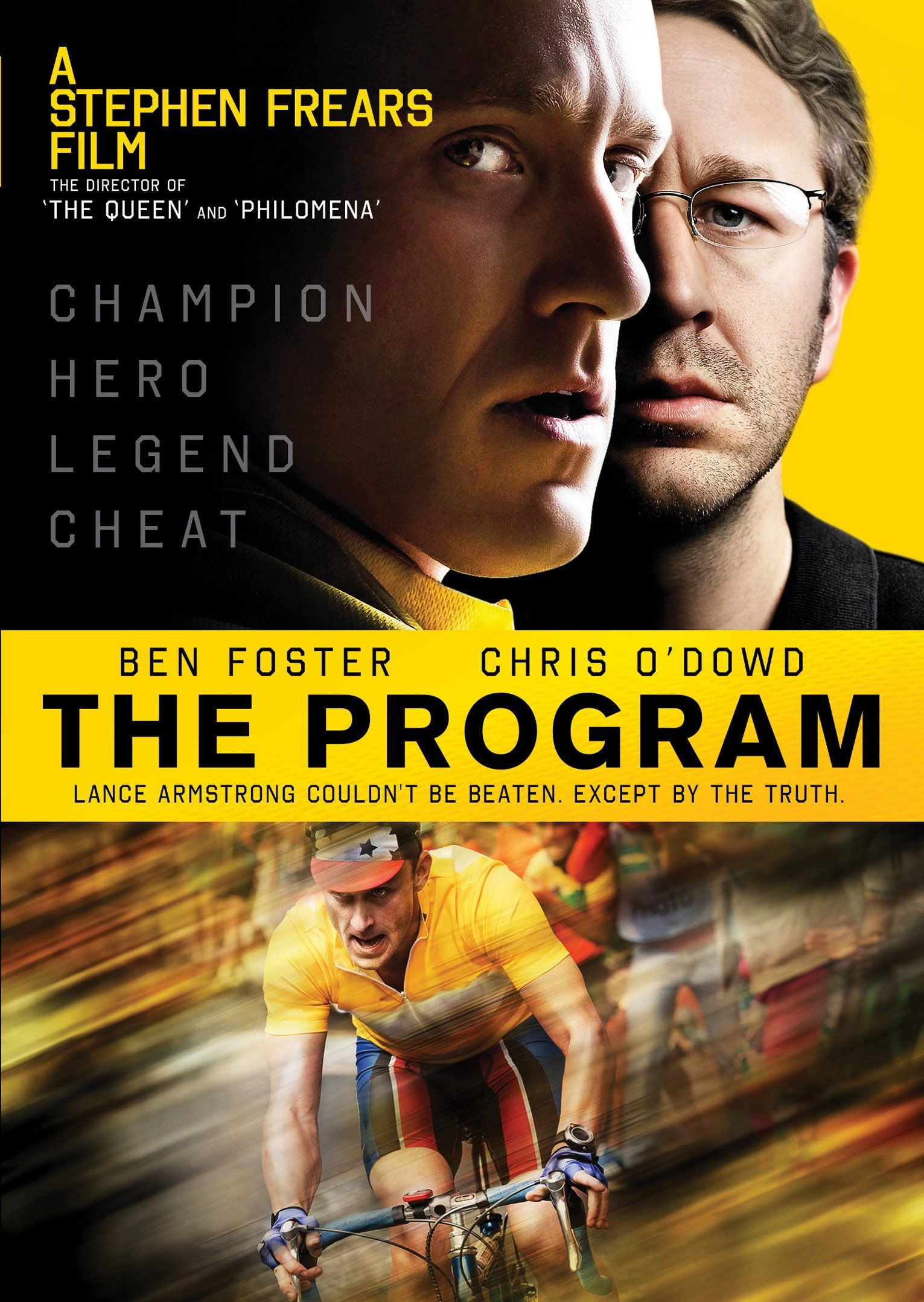 The Program (2015) The fosters, Chris o'dowd, Dvd