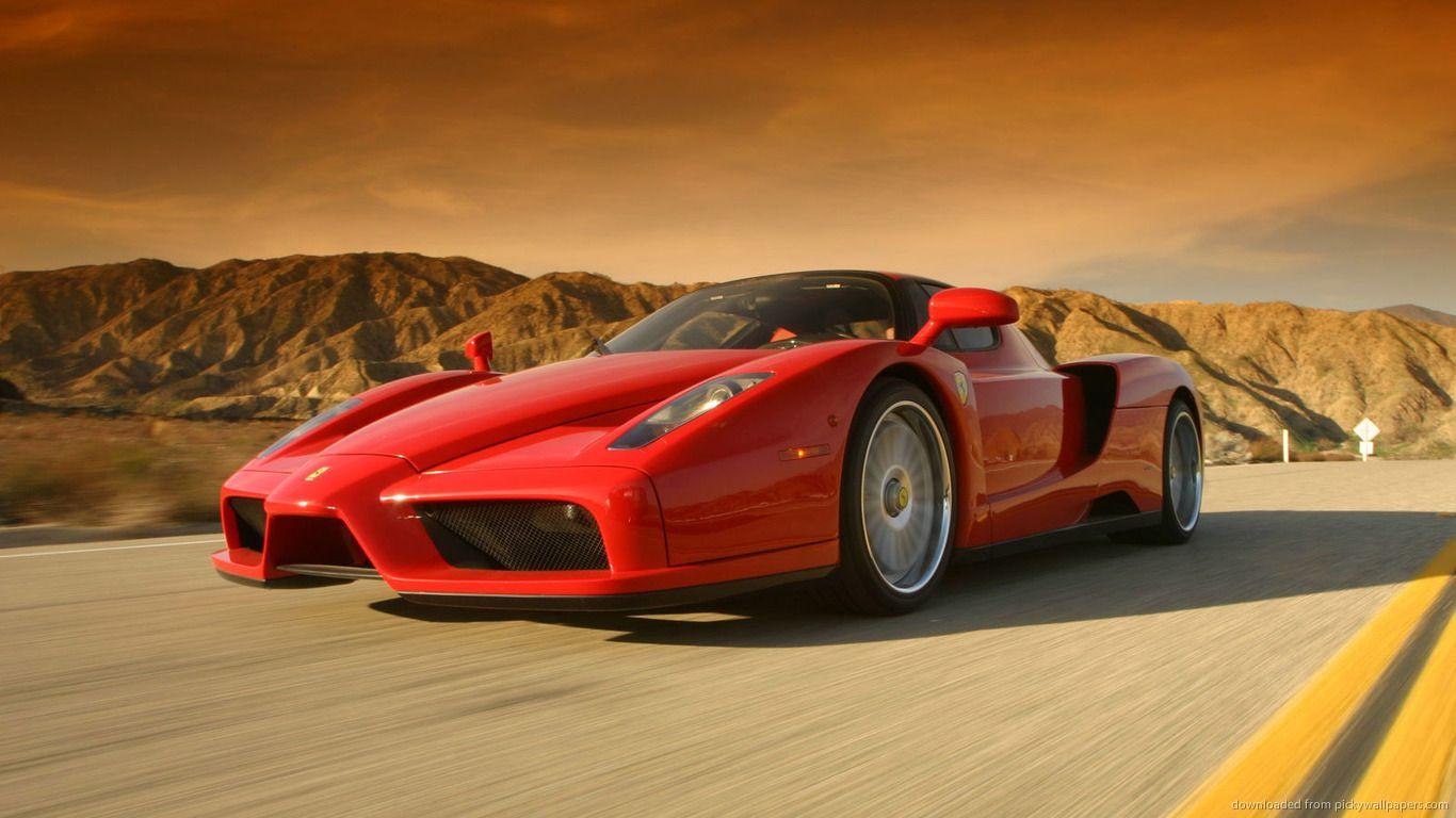 x Red Ferrari Italia GT desktop PC and Mac wallpaper