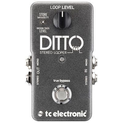 TC Electronic Ditto Looper Guitar Pedal #guitarpedals TC Electronic Ditto Looper Guitar Pedal #guitarpedals