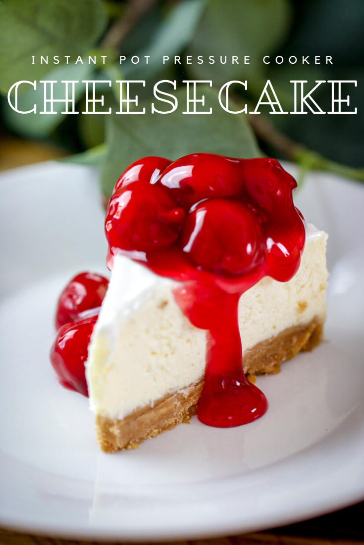 Instant Pot Cheesecake Tried Tested And True Instant Pot Cooking Recipe In 2020 Instant Pot Cheesecake Recipe Cheesecake Recipes Easy Cheesecake Recipes