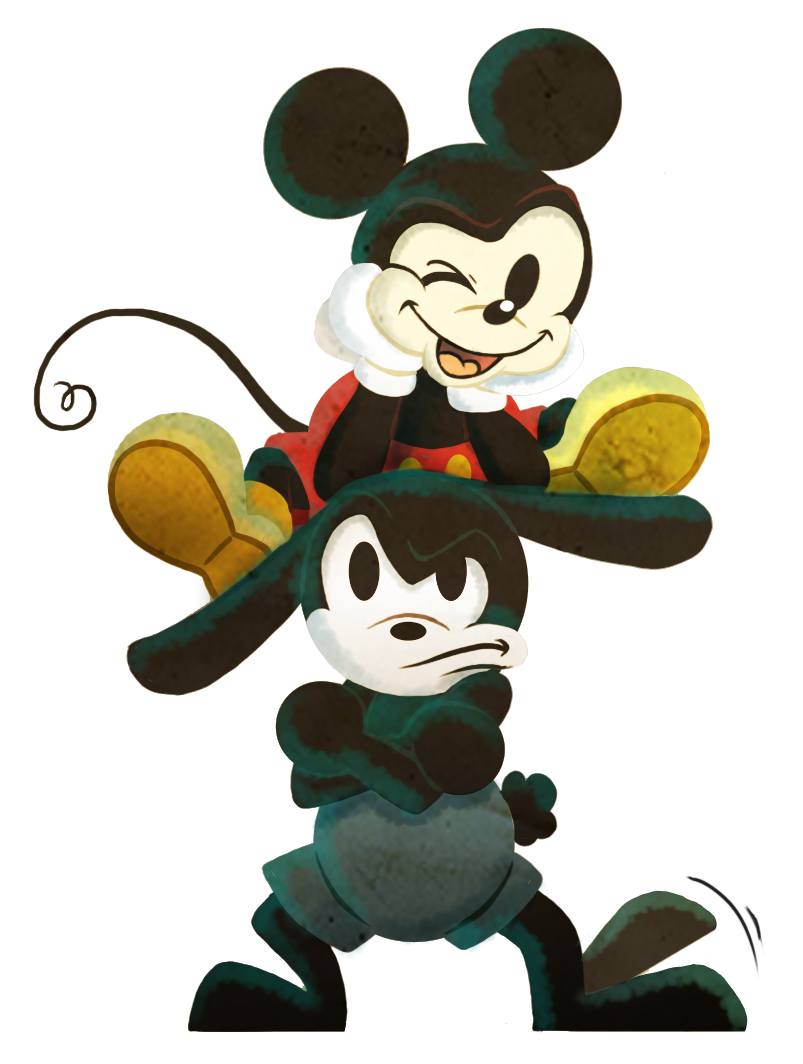 Brothers - Mickey and Oswald by Neverjay.deviantart.com on ...