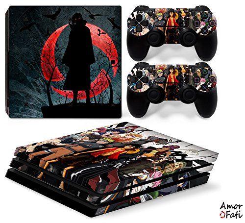 Sony Ps4 Playstation 4 Pro Skin Aufkleber Schutzfolie Set Black Blood Motiv Video Games & Consoles