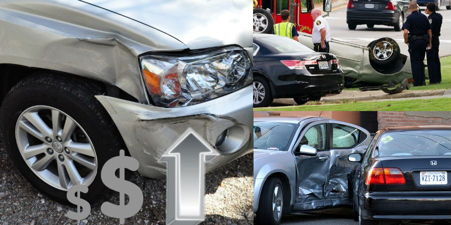 How Much Does Insurance Go Up After An Accident With Images