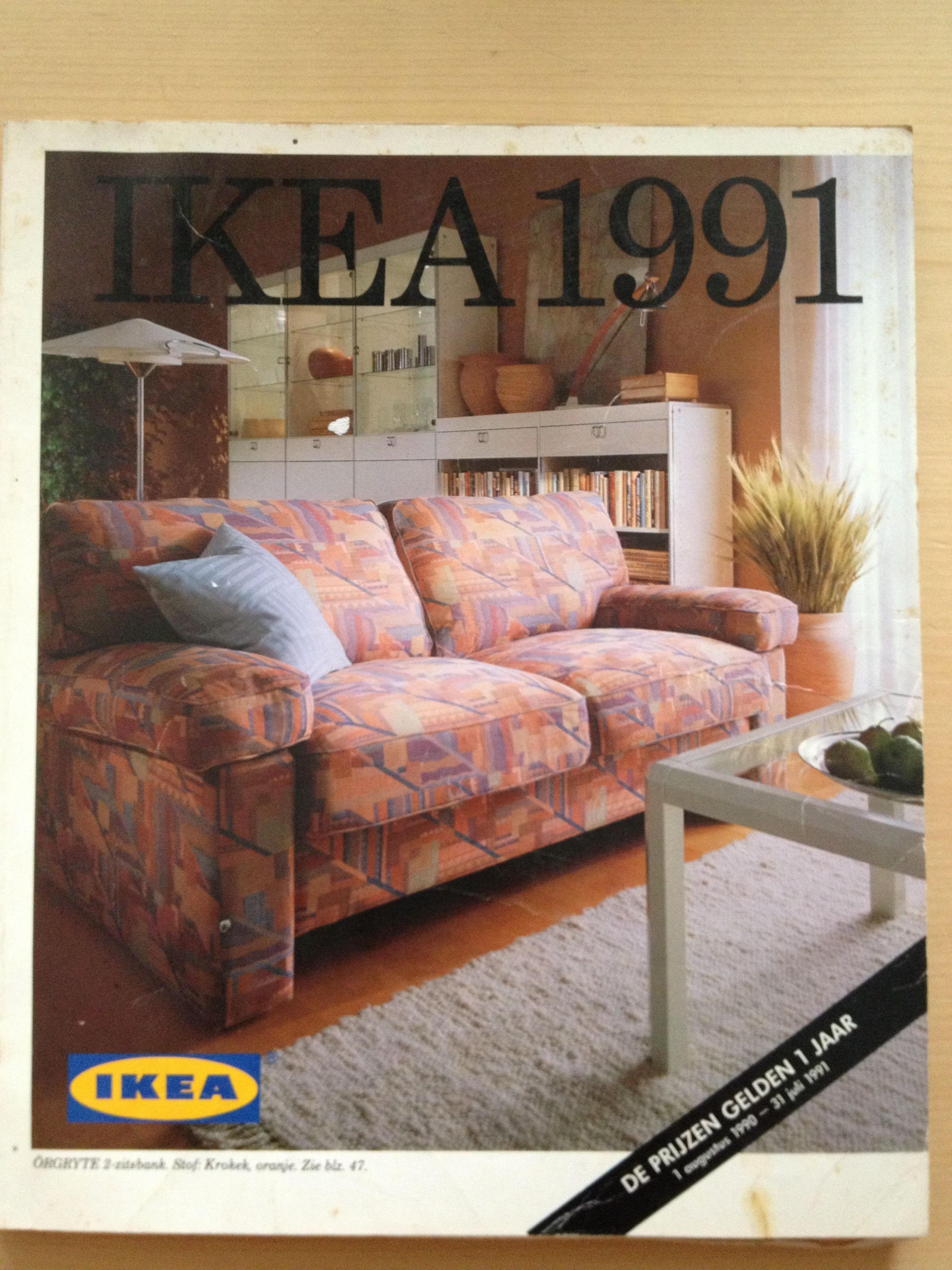 Ikea catalogue 1991 For the home