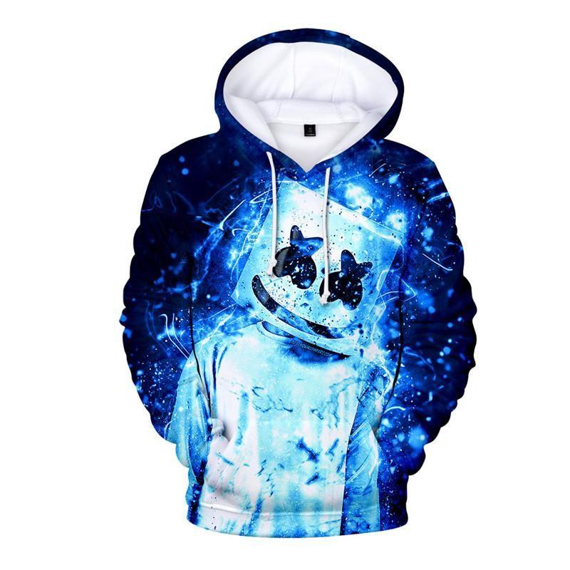 Marshmello Fortntie Concert Dj Hoodie Kids Fashion Sweatshirt Sweatshirt Fashion Unisex Hoodies Cool Hoodies