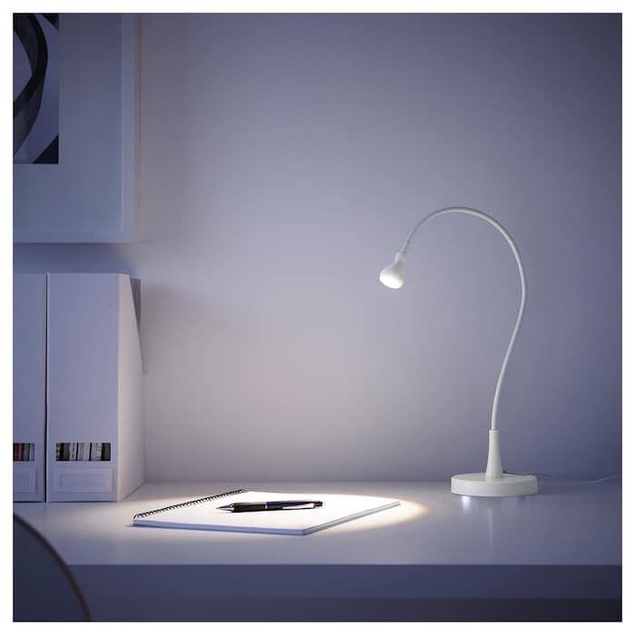 Jansjo Led Work Lamp White Ikea Work Lamp Lamp Black Lamps