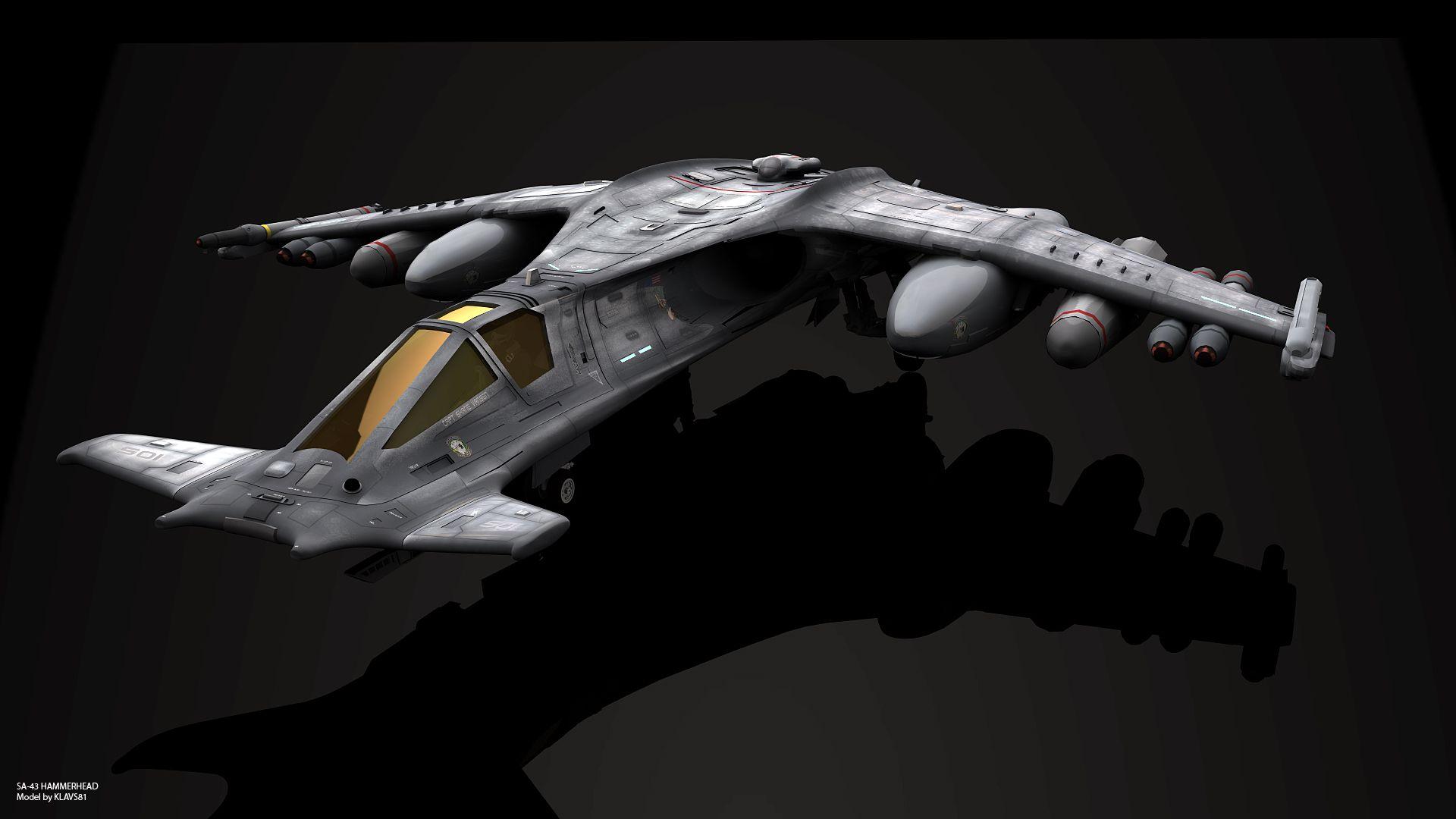 SA-43 Hammerhead by GrahamTG.deviantart.com on @DeviantArt