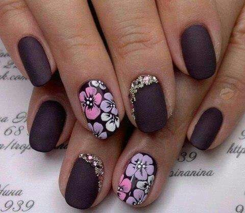 Pin by lay lay merriweather on nail art pinterest manicure autumn nails with a pattern beautiful nails fall nail ideas flower nail prinsesfo Image collections