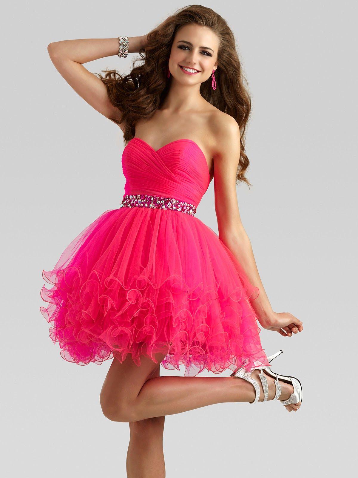 Vestidos cortos para una fiesta de 15
