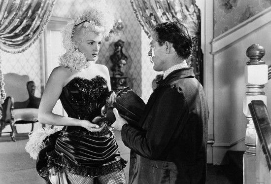 Jack Lambertin kanssa elokuvassa Montanan salaperäinen nainen.