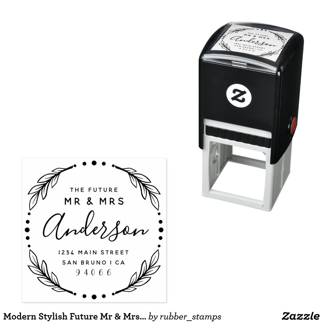 Self Inking Stamps Stamp Return Address