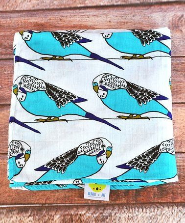 SwaddleMe Muslin Blankets Birds of a Feather Girl Pack of 2