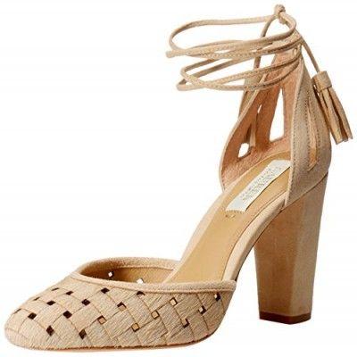 Heels,Lauren Ralph Lauren Women's Verna Dress Pump, Parchment/Kidsuede, ...