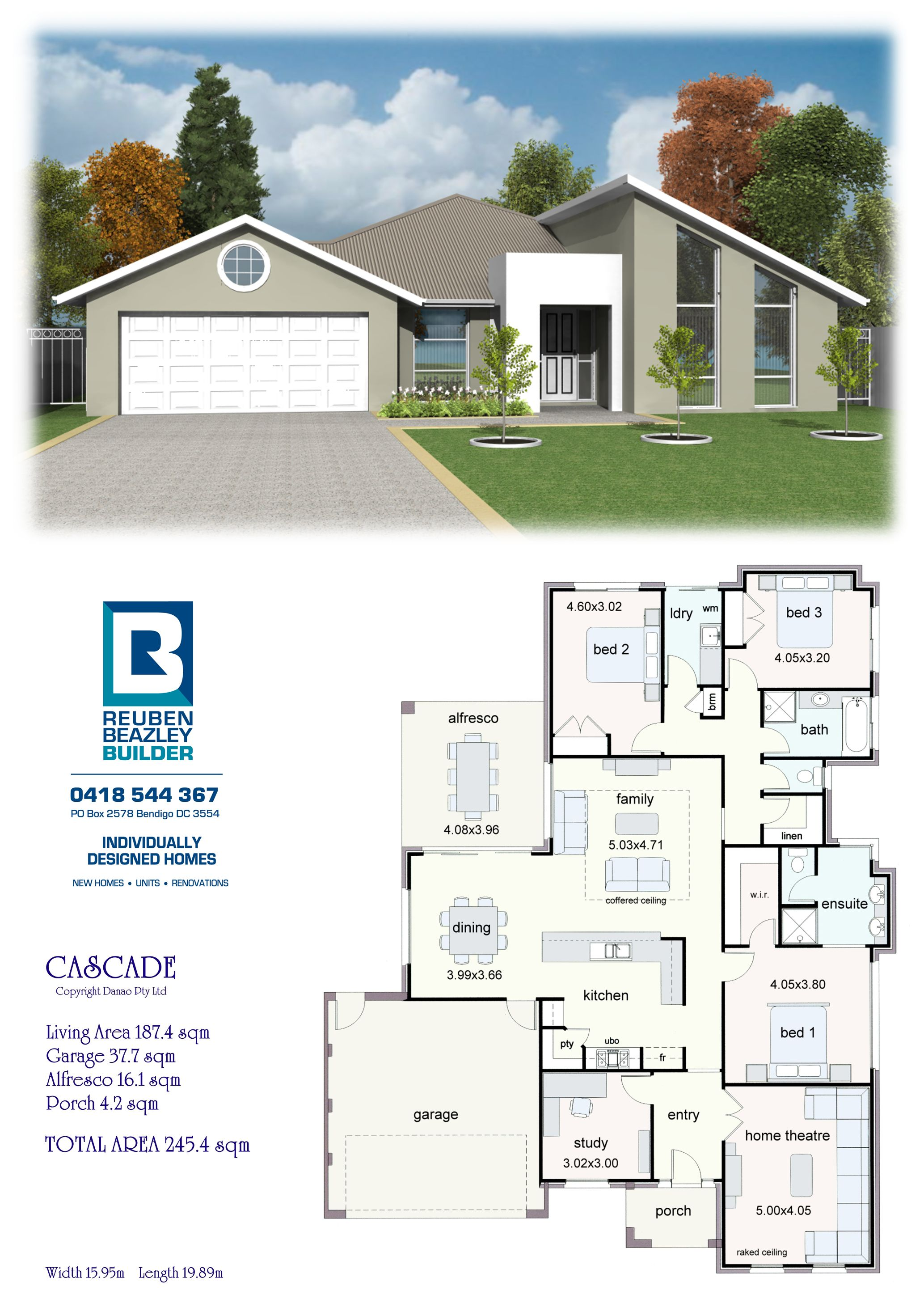 The Cascade Dream House Plans House Blueprints Design Your Dream House