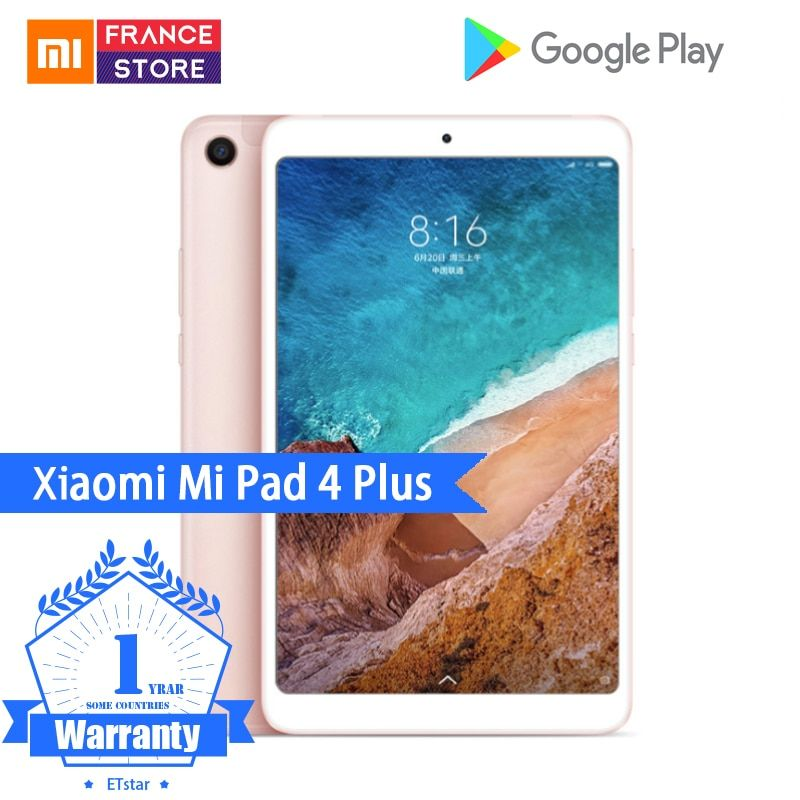 Original Xiaomi Mi Pad 4 Plus Pc Tablet 10 1 Snapdragon 660 Octa