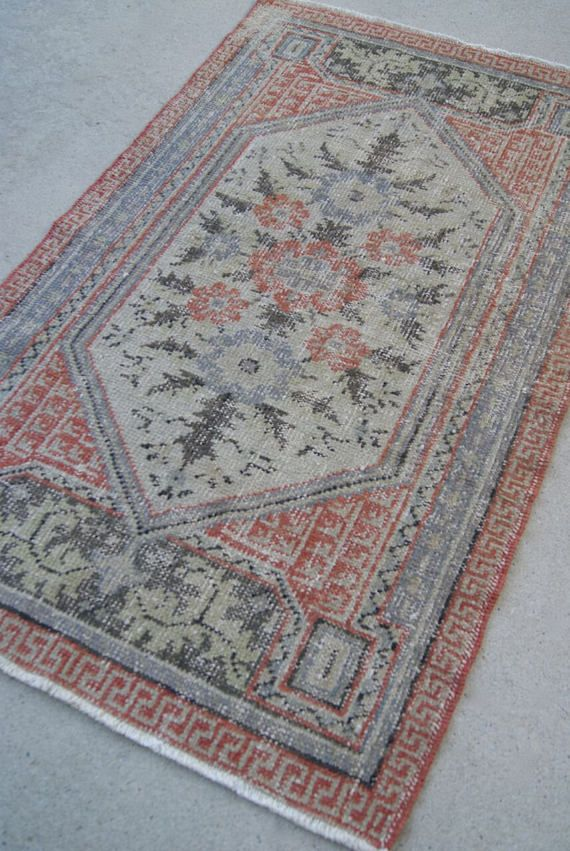 C Colored Fl Vintage Traditional Turkish Oushak Style Rug From Woven In A Small Business Based Columbia Sc