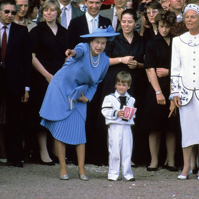 Prince William And Queen Elizabeth's Best Photos Together