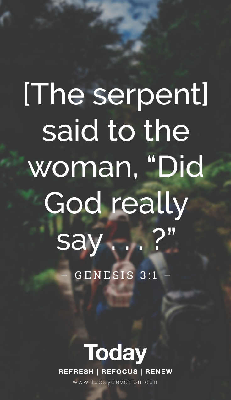 Did God Really Say Daily Devotional Scripture Quotes Devotions