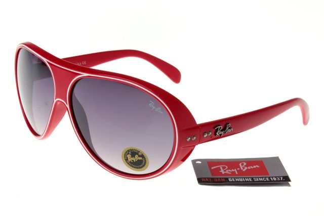 Ray-Ban Jackie Ohh 136 Red Frame Gray Lens RB1019 [RB-1019] - $27.30 ...