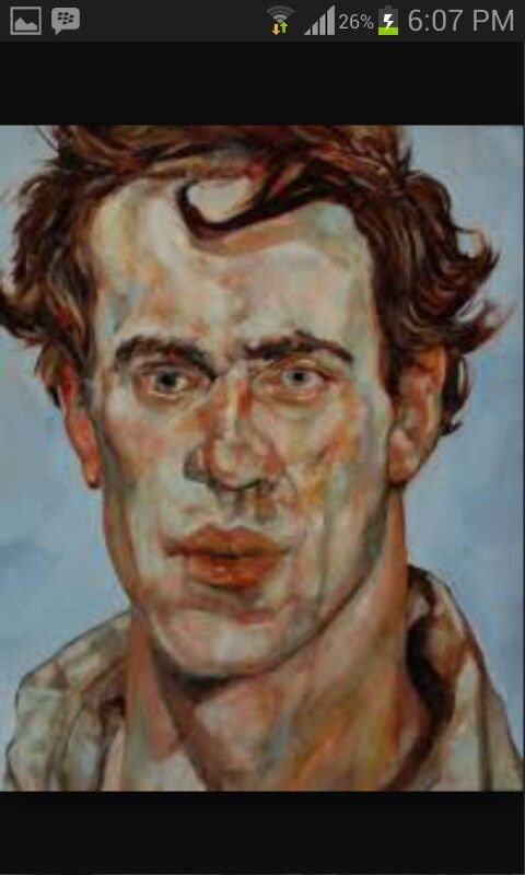 Hombre joven, Lucian Freud