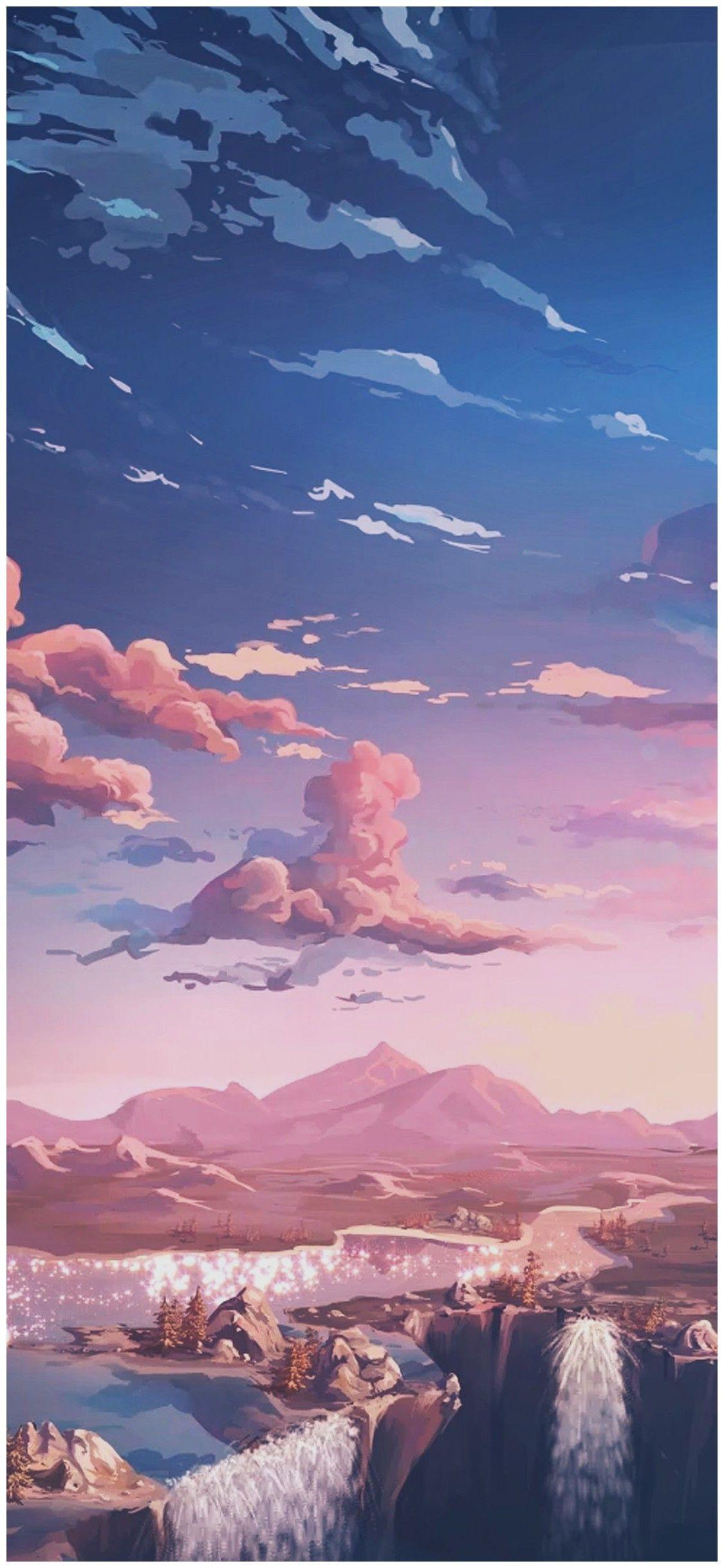 Aesthetic Tumblr Wallpaper Iphone Hd In 2020 Anime Wallpaper Iphone Anime Scenery Wallpaper Tumblr Iphone Wallpaper